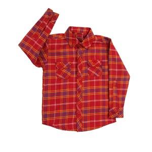 Boys Flannel Shirt R/R/Y