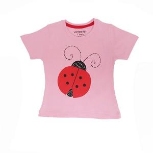 Girls T-Shirt H/L Ladybug
