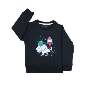 Sweatshirt Dino Space Navy