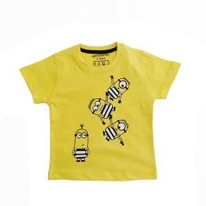 Boys T-Shirt H/L Minions Yellow