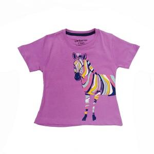 Girls T-Shirt Purple