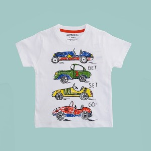 Boys T-Shirt H/L GSG White