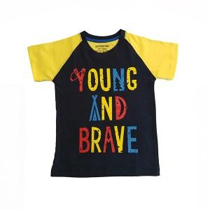 Boys T-Shirt H/L Y&B