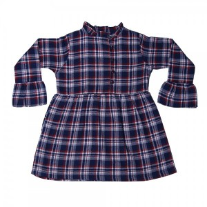 Girls Flannel Top '19