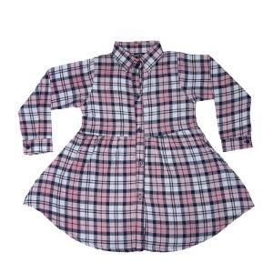 Girls Flannel Top '19