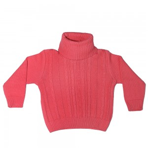 Girls Sweater T-Neck SML '19