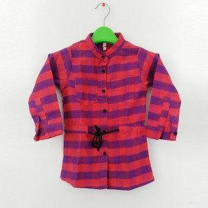 Girl Flannel Top