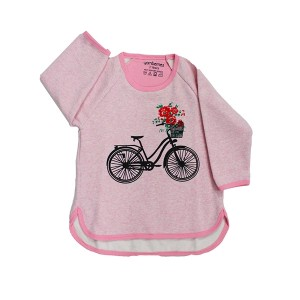 Girls sweat shirt pink