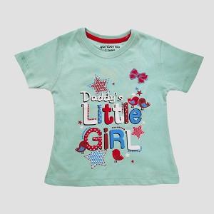 Girls T Shirt H/L C-Green