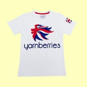 Boys T Shirt H/L YB White